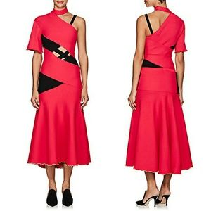 Proenza Schouler bandage strappy midi dress